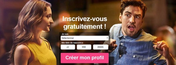 Inscription gratuite sur Meetic